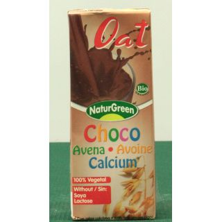 Oat drink with chocolate