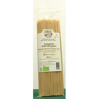 Spaghetti from wheat semolina